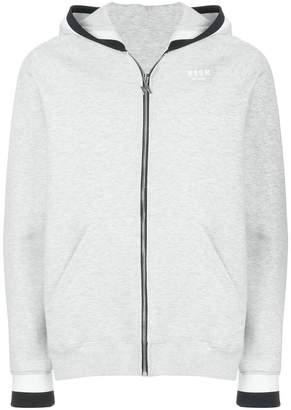 MSGM zip-up hoodie