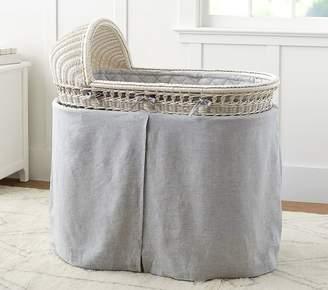 Pottery Barn Kids Bassinet Bedding Set: Bumper & Skirt