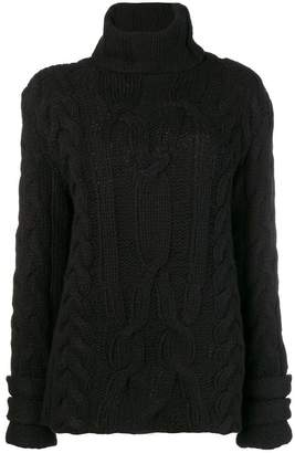 Michel Klein chunky knit jumper