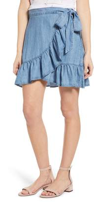 Rails Etienne Chambray Wrap Skirt