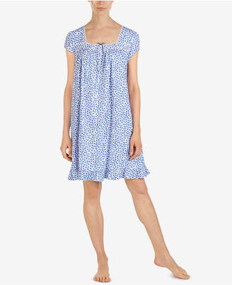 b0d584a05a Eileen West Cotton Printed Short Nightgown