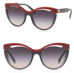 Aquazzura Injected Woman's Cat Eye Sunglasses