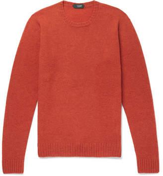 Incotex Brushed Virgin Wool Sweater