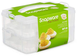 Snapware Snap and Stack Egg-Tainer