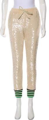 Gucci 2018 Embellished Sweatpants w/ Tags