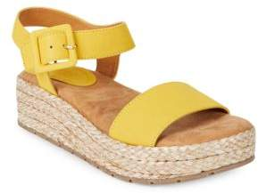 Kenneth Cole Reaction Calmwater Espadrille Platform Wedge Sandals