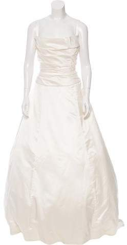 Vera Wang Vera Wang Silk Wedding Gown