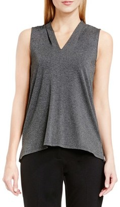 Women's Vince Camuto Sleeveless V-Neck Top $49 thestylecure.com