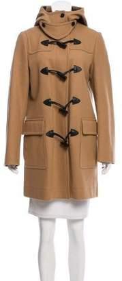Belstaff Structured Hooded Coat