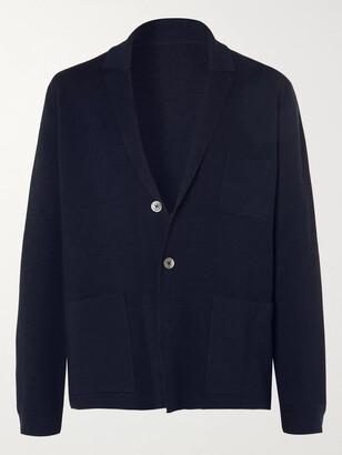Mr P. Unstructured Merino Wool Blazer