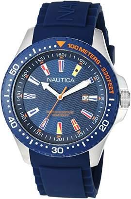 Nautica Men's 'JONES BEACH COLLECTION' Quartz Resin and Silicone Casual Watch