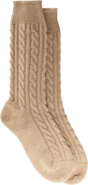 Corgi Mid-Calf Cashmere Socks