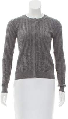 Paule Ka Long Sleeve Knit Cardigan