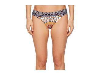 Nanette Lepore Super Fly Paisley Charmer Hipster Bikini Bottom Women's Swimwear
