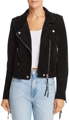 Blank NYC BLANKNYC Fringed Suede Moto Jacket