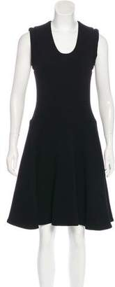 Bouchra Jarrar Wool A-Line Dress