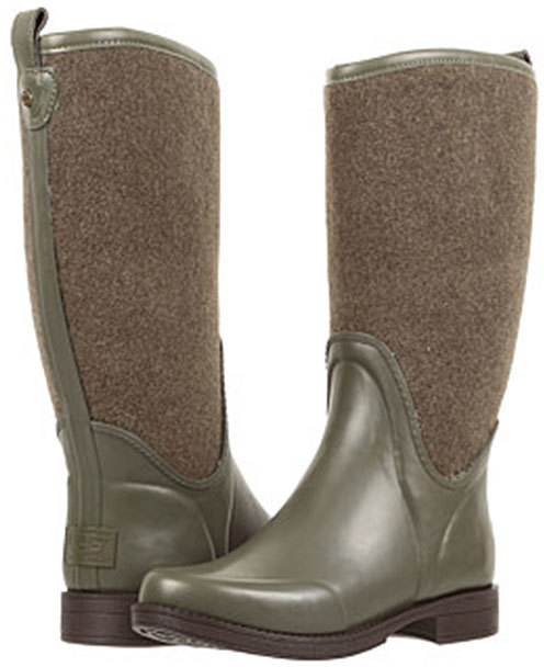 UGG Burnt Olive Reignfall Boot - Women