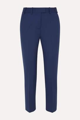 Cefinn - Cropped Stretch-twill Straight-leg Pants - Cobalt blue