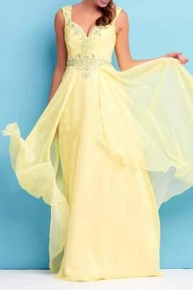 Mac Duggal Chiffon Gown