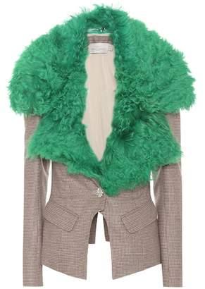 Preen by Thornton Bregazzi Otis wool-blend jacket