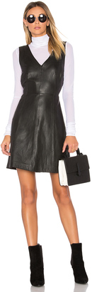 Muubaa Handley V Neck Dress $429 thestylecure.com