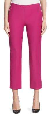 Armani Collezioni Techno Cotton Slim-Leg Pants