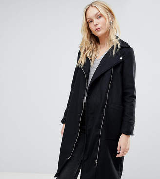 Brave Soul Tall Hindon Biker Coat