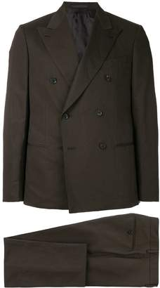Caruso double breasted two piece suit
