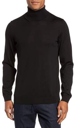 HUGO Musso Slim Fit Wool Turtleneck Sweater