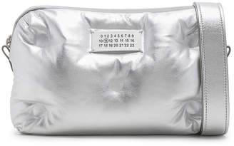 Maison Margiela Number Crossbody Bag in Silver | FWRD