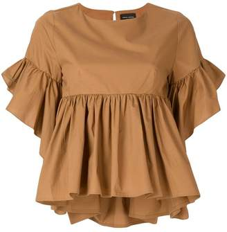 Roberto Collina ruffled blouse