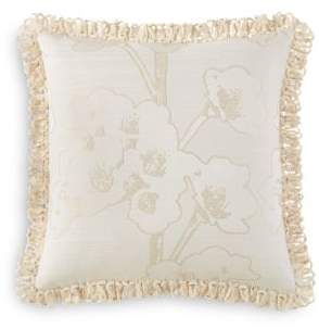 "Waterford Sydney Floral Decorative Pillow, 18"" x 18"""