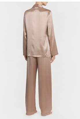La Perla Silk Dusty Pink Silk Pyjama Set