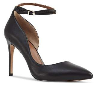 Reiss Women's Lya Double Ankle Strap Leather Pumps