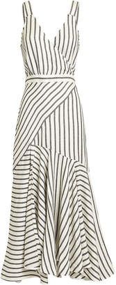 Lover Marinere Stripe Midi Dress