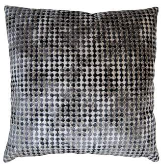 Square Feathers Robertson Gem Accent Pillow