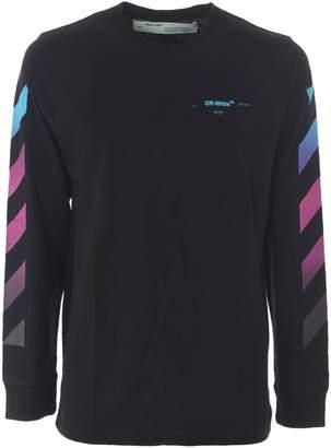 Off-White Off White Gradient Stripe Sweatshirt