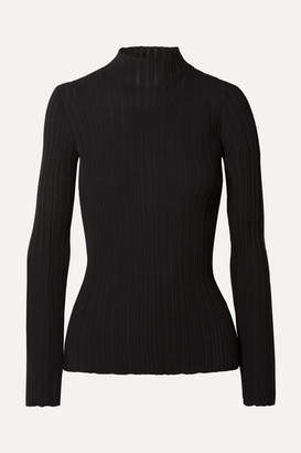 Acne Studios Kana Ribbed Cotton-blend Sweater - Black