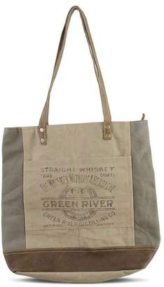 K&K Interiors Weathered Canvas Tote