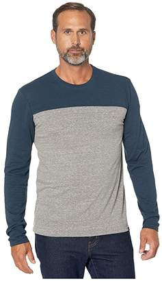 Threads 4 Thought Long Sleeve Contrast Yoke Tee