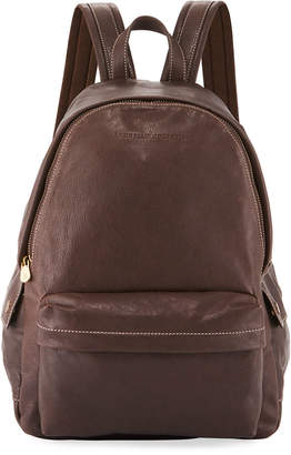 Brunello Cucinelli Men's Leather Backpack