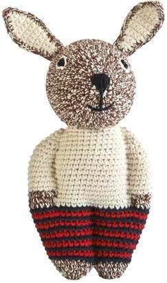 Anne Claire Hand-Crocheted Organic Cotton Rabbit