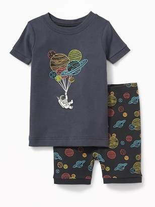 Old Navy Astronaut Balloons Sleep Set for Toddler & Baby