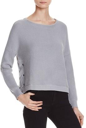 Eleven Paris Tara Rib Sweater - 100% Exclusive $125 thestylecure.com