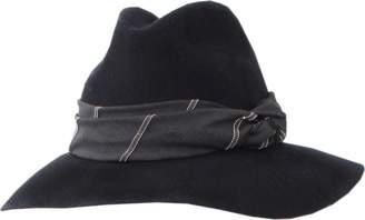 Brunello Cucinelli Flannel Wide Brim Hat