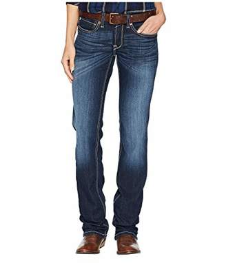 Ariat Women's Real Mid Rise Straight