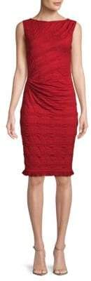 Max Studio Ruffled Sheath Dress
