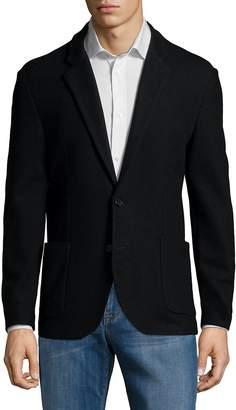 Karl Lagerfeld Paris Men's Cotton Blazer Jacket