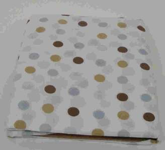 Beansprout Bean Sprout Mod Star Crib Sheet, Blue (Discontinued by Manufacturer)
