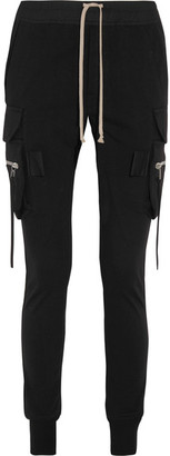 Rick Owens - Cotton Tapered Pants - Black $955 thestylecure.com